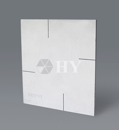 NSiC Nitride Bonded Silicon Carbide Ceramic Refractroy Plate Slab Batts Kiln Furniture