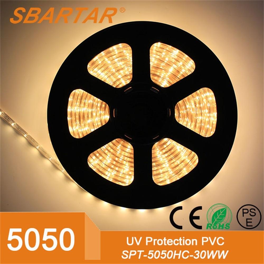Outdoor Decorative110v 220v 5050 Flexible LED Strip High Voltage Light