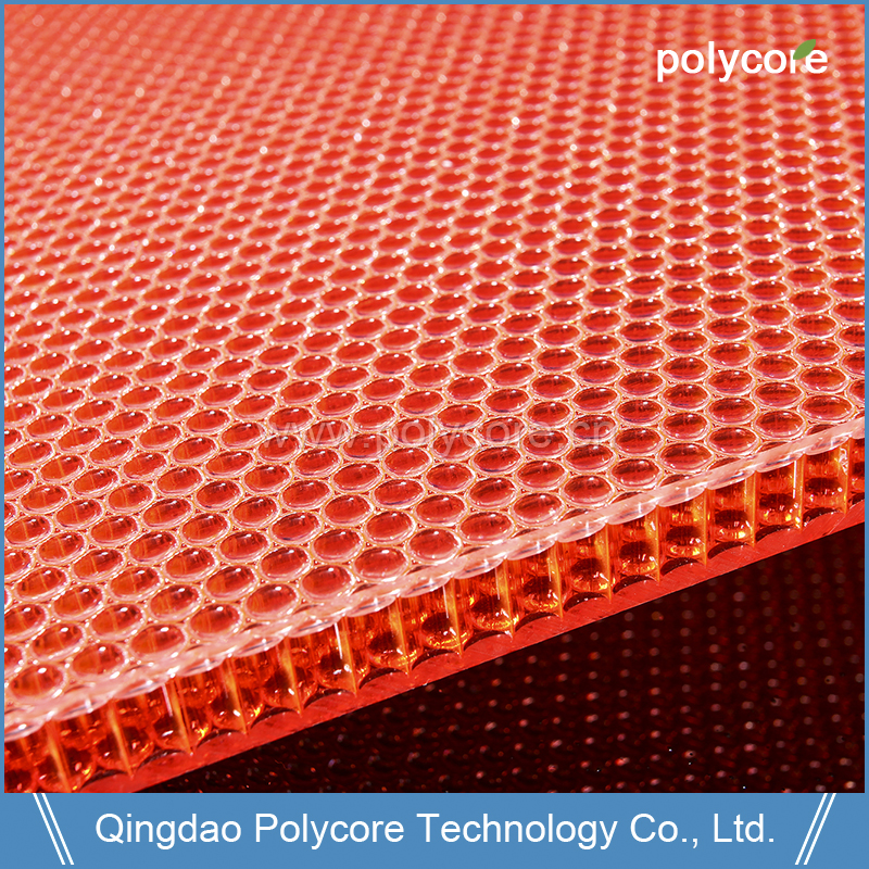 Sound Proof Water Proof Fire Proof PC Honeycomb Sandwich Panel