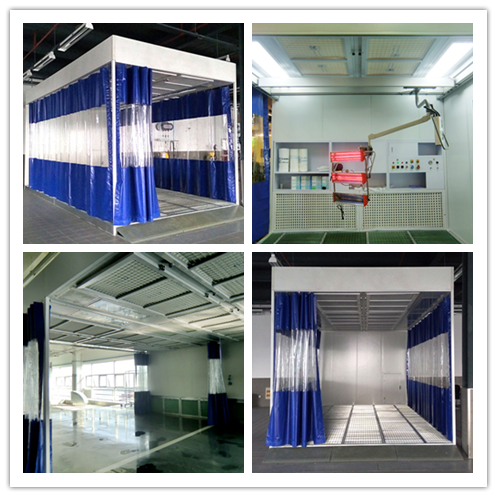 Car care equipment Lysir spray painting booth for sale