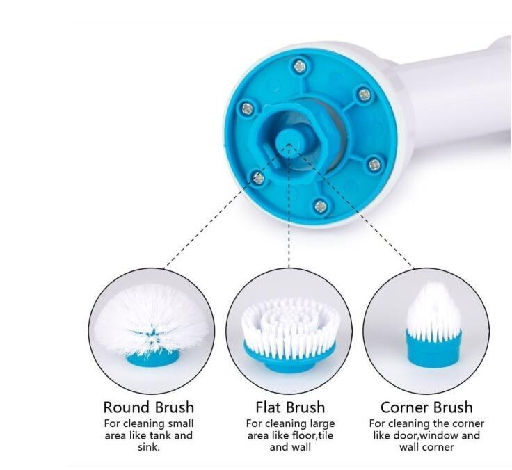China manufacturer Spin Scrubber brush with best quality and low price