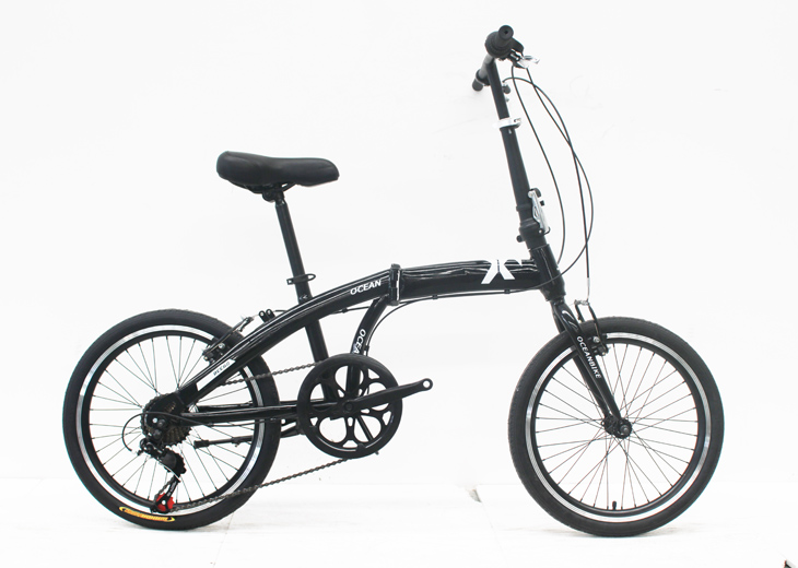 20STEEL FOLDING BIKE FRAME STEEL RIGID FORK FOLDING BIKE