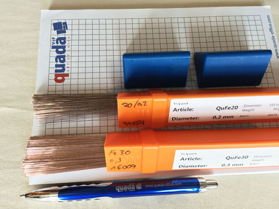 Laser Welding Wires/Rods(Germany Quada--QF10)Dia. 0.3mm