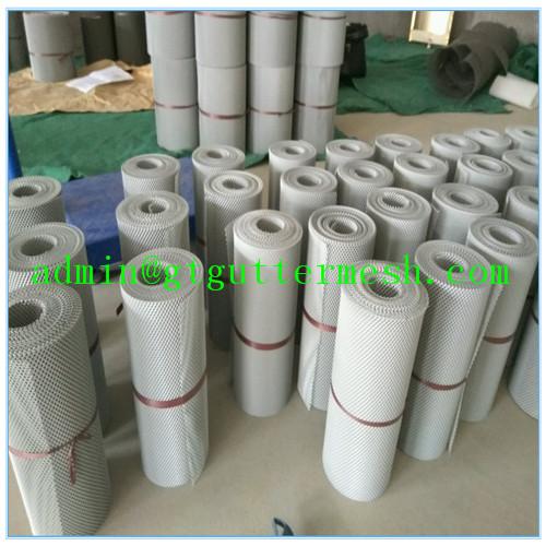 Aluminium Leaf Free Gutter Guard Mesh From China