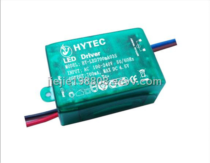 HYTEC AC to DC 4.5V LED Driver Power Supply HY-LED700MA03S
