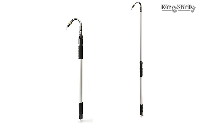 Telescopic Gutter Water Wand Garden Watering Cleaning