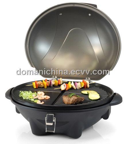 barbecue grill stand tischmodell aluminium grillplatte