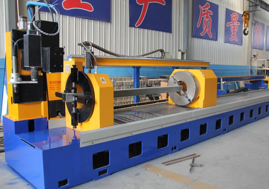 cnc squarerectangular tube plasma and flame cutting machine china factory price
