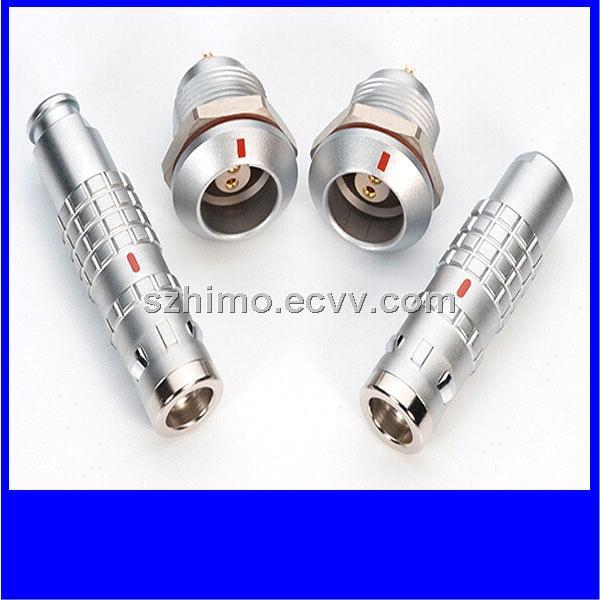 3pin Metal K series LEMO waterproof metal connector