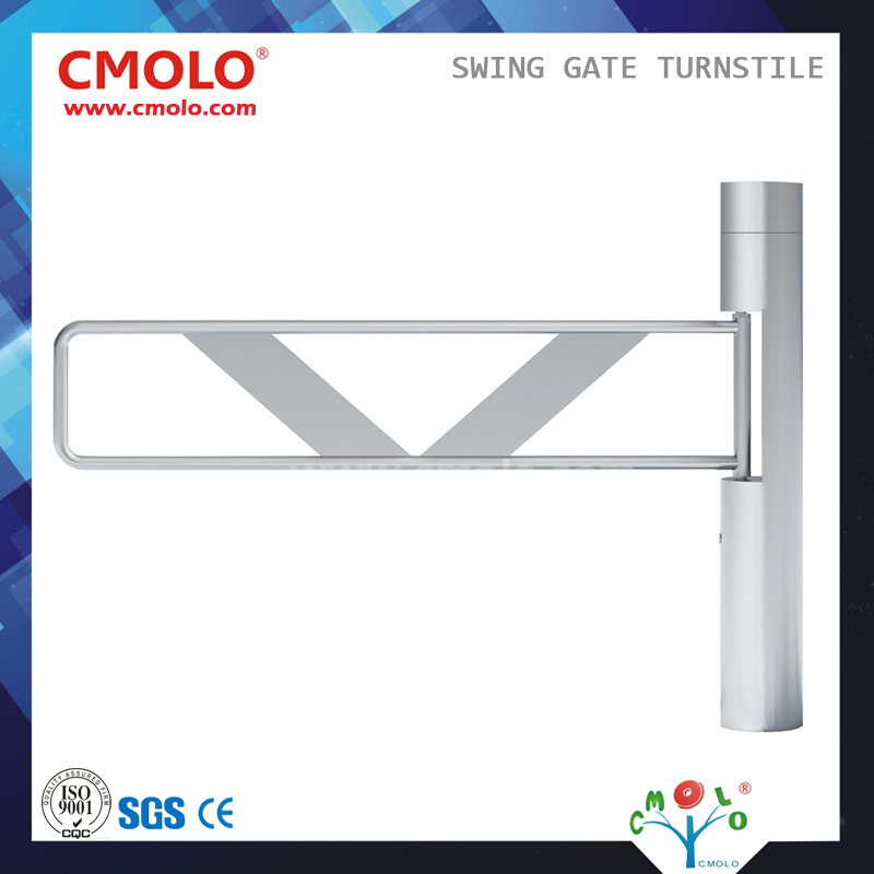 CE Approved Cylinder Swing Barrier CPW321AS