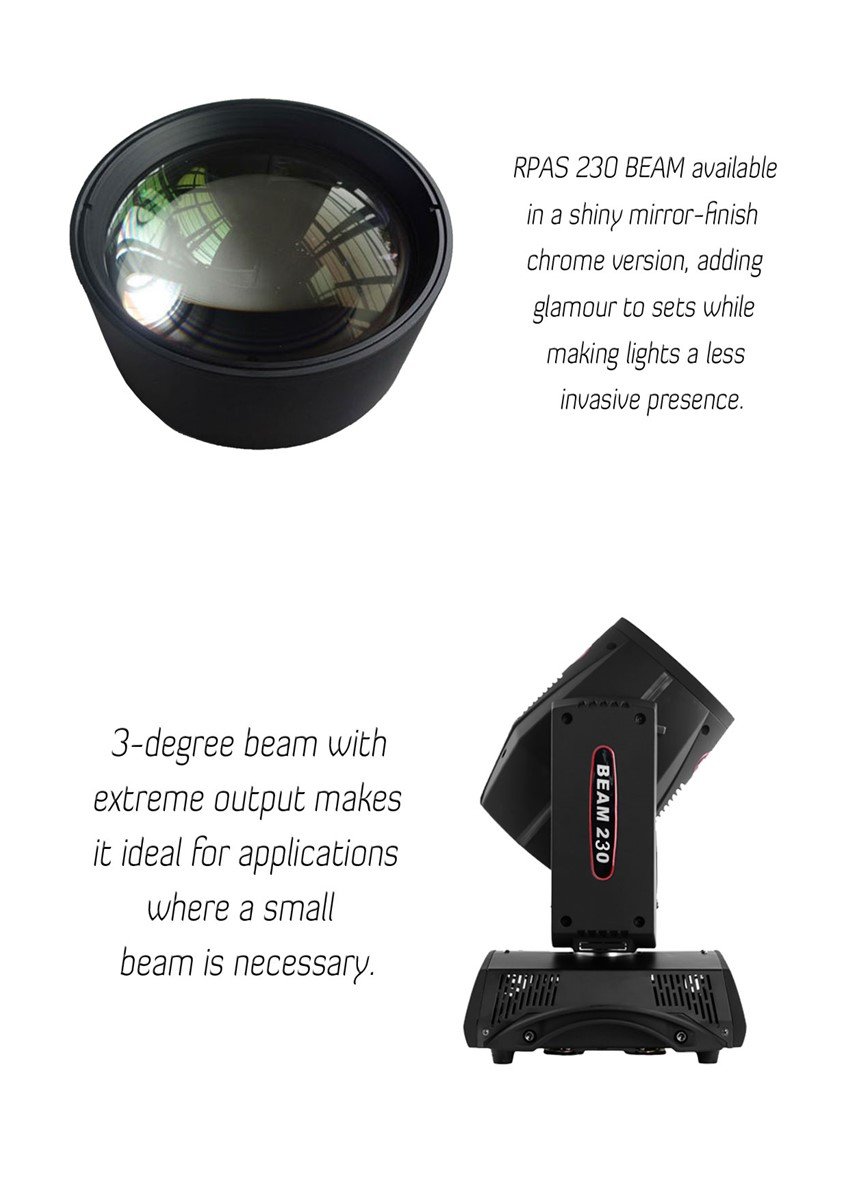 Osram 7R Sharpy 230W Moving Head Beam Beam230 Stage Beam Light