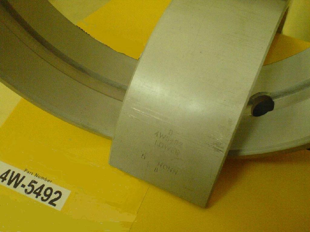 Main engine bearing 4W5492 Main engine bearing cat 3406 3412 replacement