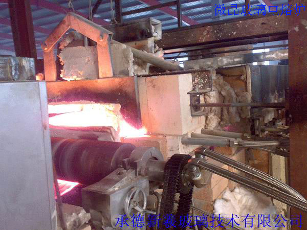 5 ton glassceramics production line