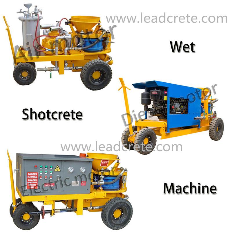 LSZ3000 drywet mix Shotcrete Machine