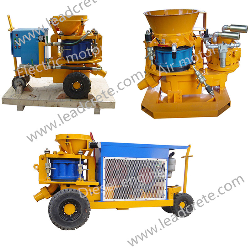 LZ9 drymix concrete spraying machine