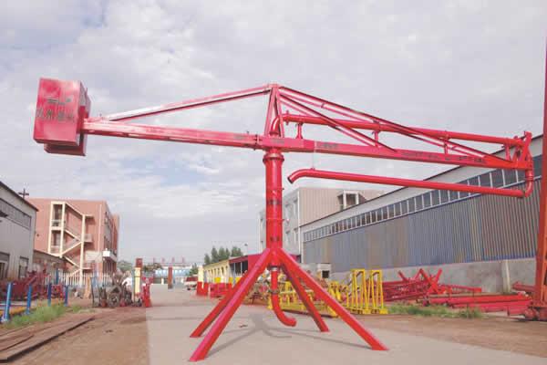 concrete placing boom manufacturers