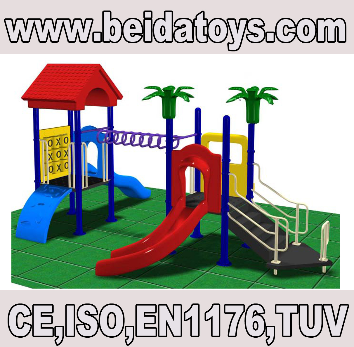 children playground slide BDDD825