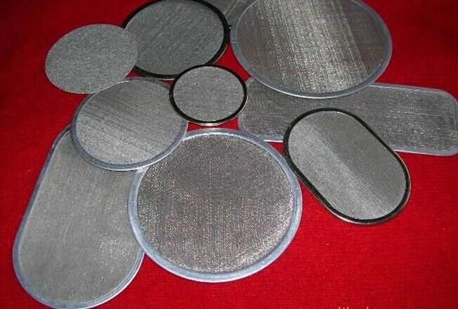 Extruder Screen MeshStainless Steel Filter Disc