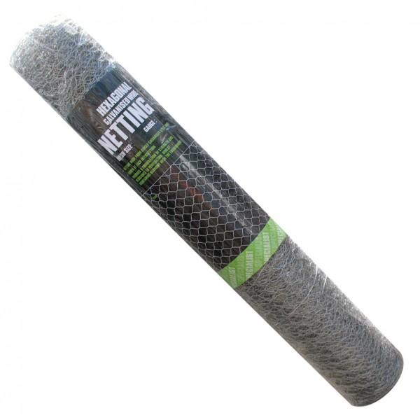 150ftx6ft 34 Dark Green PVC Coated Hexagonal Netting