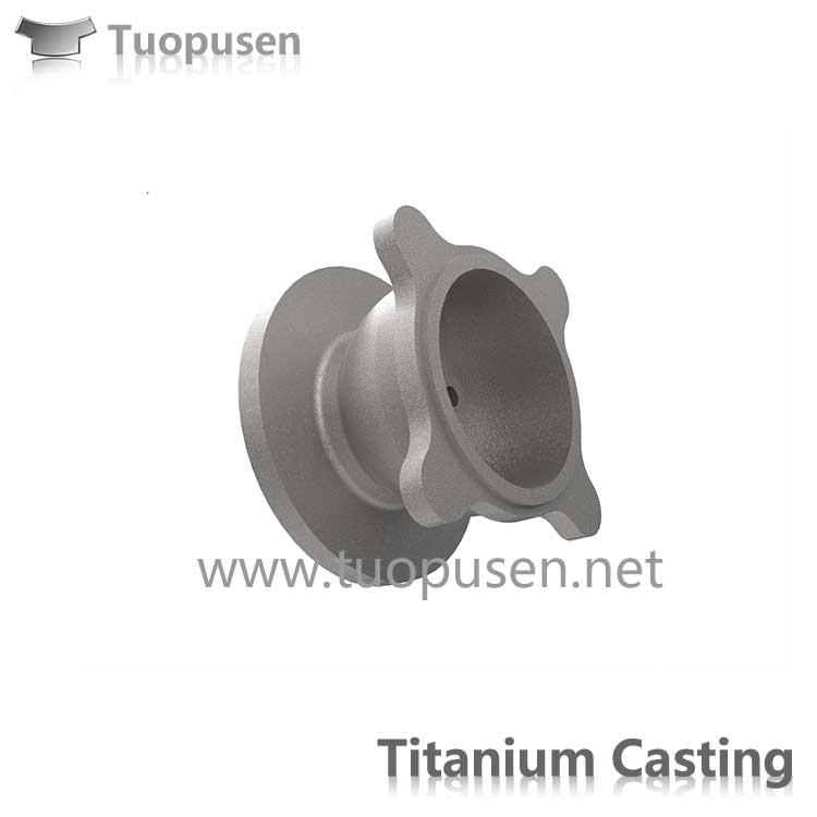 Titanium casting parts valve Grade C235 with HIP