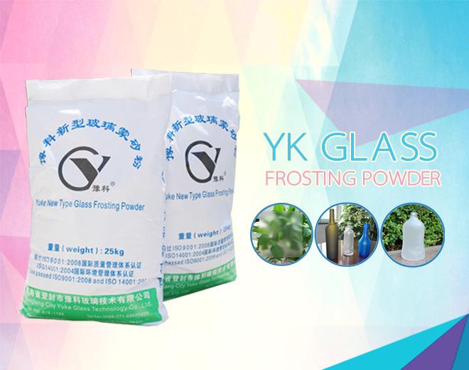 Icesnow effect Glass Etching Powder