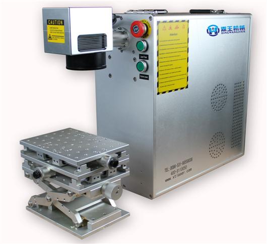 Industry Plastic most practical Fiber Laser Marking Machines