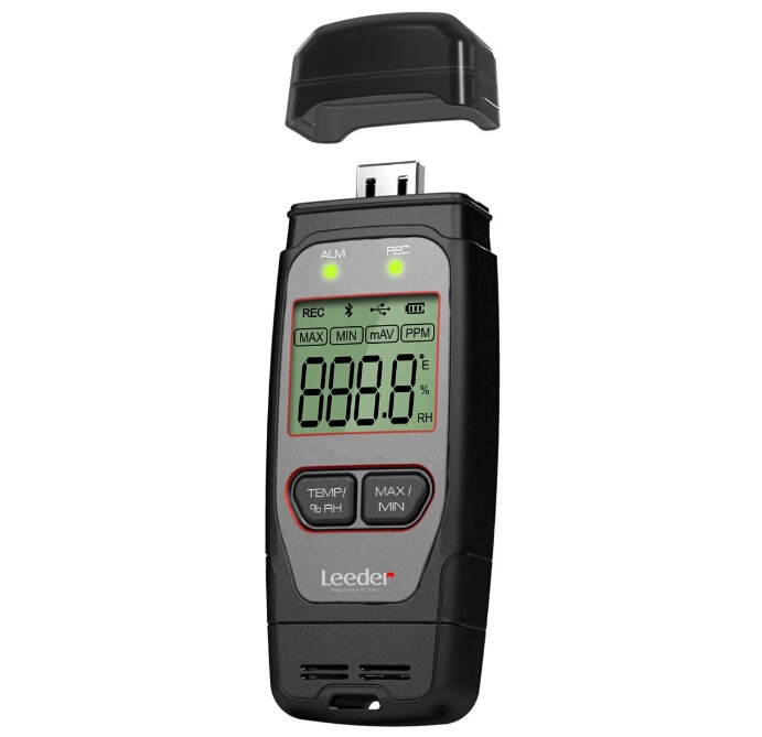 Hi Accuracy USB Data Logger with LCD