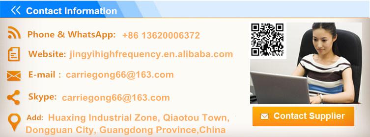 High Frequency PVC Car Mat Carpet Welding Machine