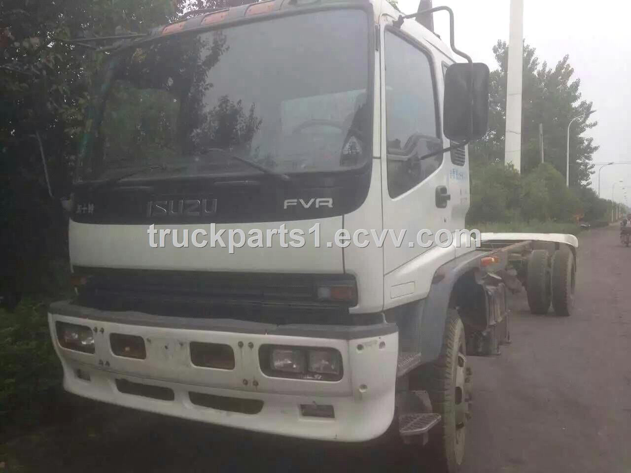 Used ISUZU Truck for sale Mixer truck pump truck dump truck tractor head ISUZU truck engine gearbox cabin rear axle
