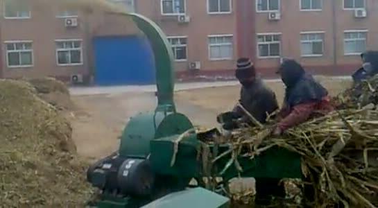 grass crusher grass silage chaff cutter