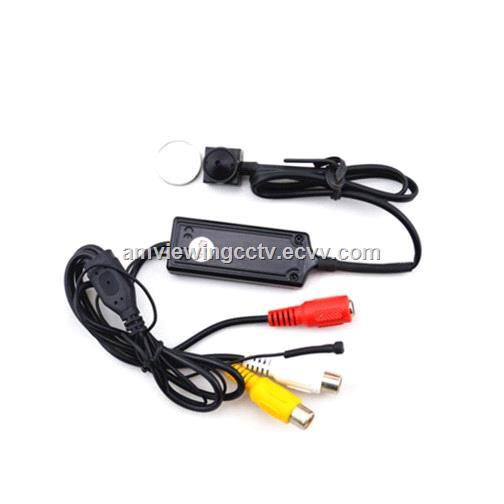 700tvl sony CCD small size surveillance camera with audiopinhole CCTV hd mini camera