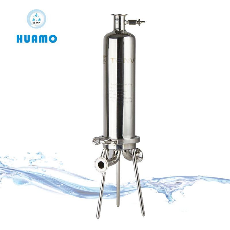 Stainless Steel Sanitary Multi Cartridges Style Water Filter HousingSS Filter Housing