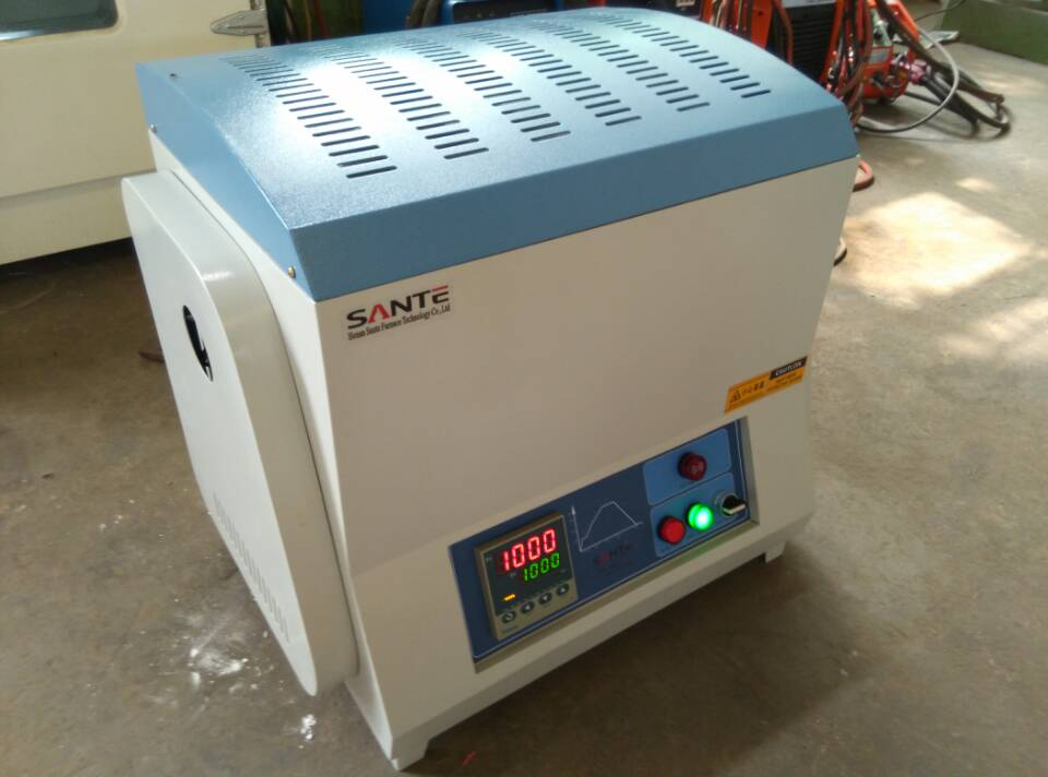 1300c tube type electric muffle furnace for heat treatment