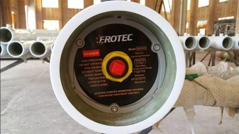 8040 FRP RO Membrane Housing Membrane Pressure Vessel