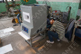 1200c industrial electric furance with 96 liter chamber