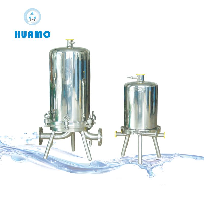 Stainless Steel Sanitary Multi Cartridges Style Water Filter Housing
