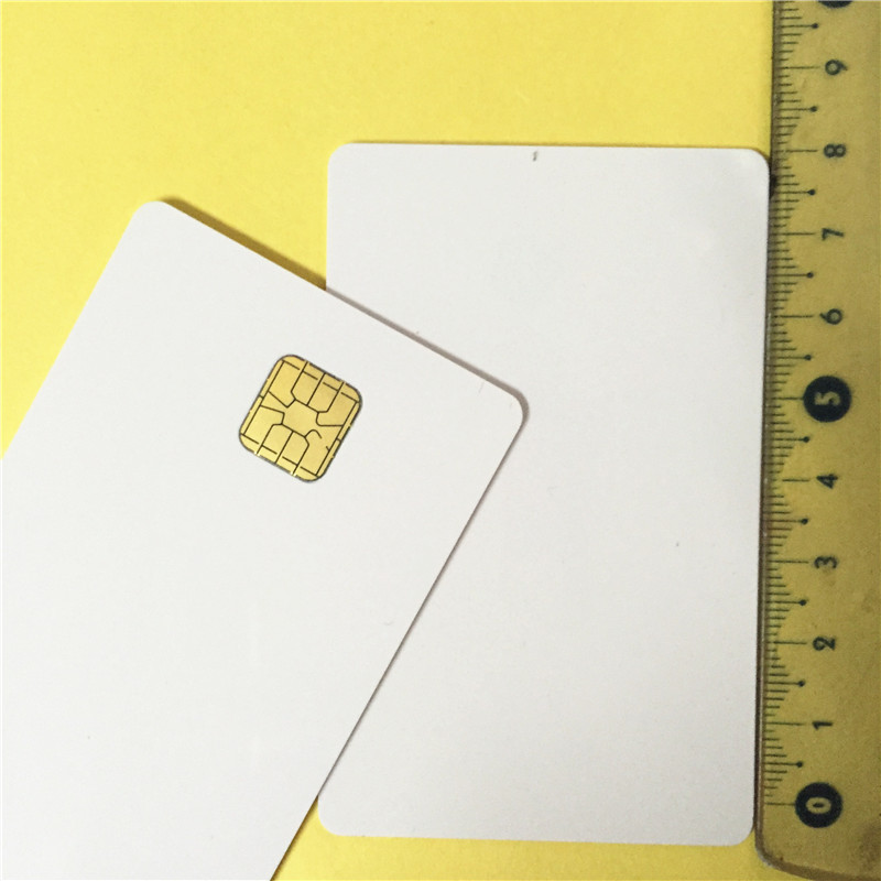 Printable Blank Contact PVC Smart IC Card with SleFM4428 Chip for EpsonCanon Inkjet Printer