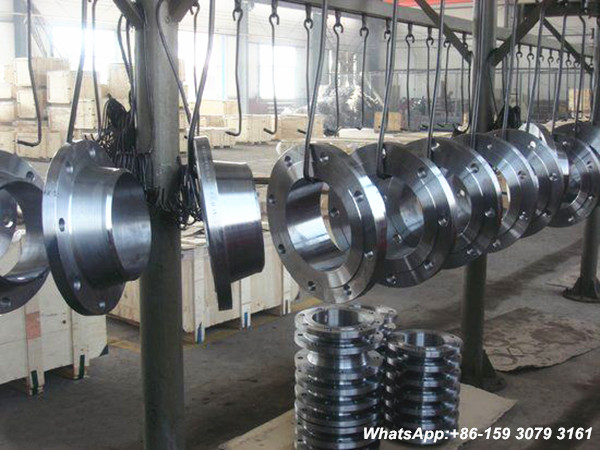 A105 carbon steel welded neck flange