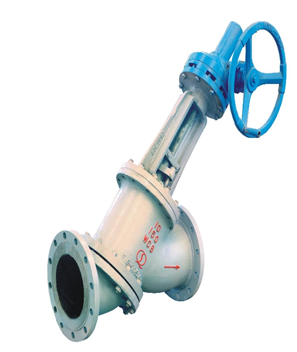 Y Type Antiabrasive High Pressure Globe Valve