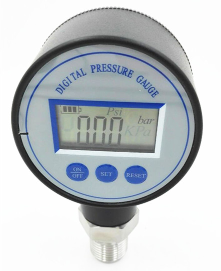Small digital pressure gauge