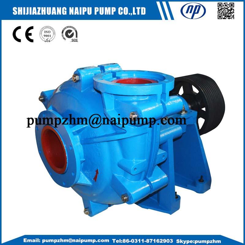 AH horizontal slurry pump for gold mining