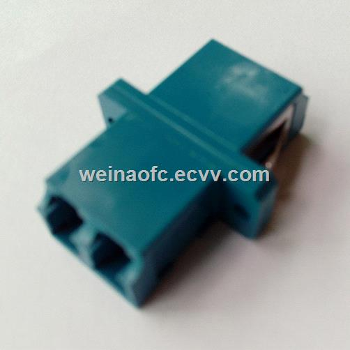 Optic Fiber Adaptor LCLC duplex singlemode Plastic Housing