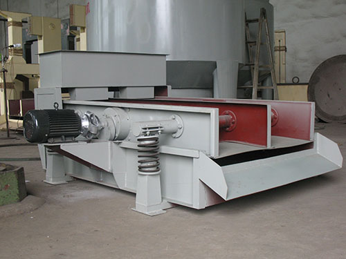 High frequency vibrating screen for paper machine