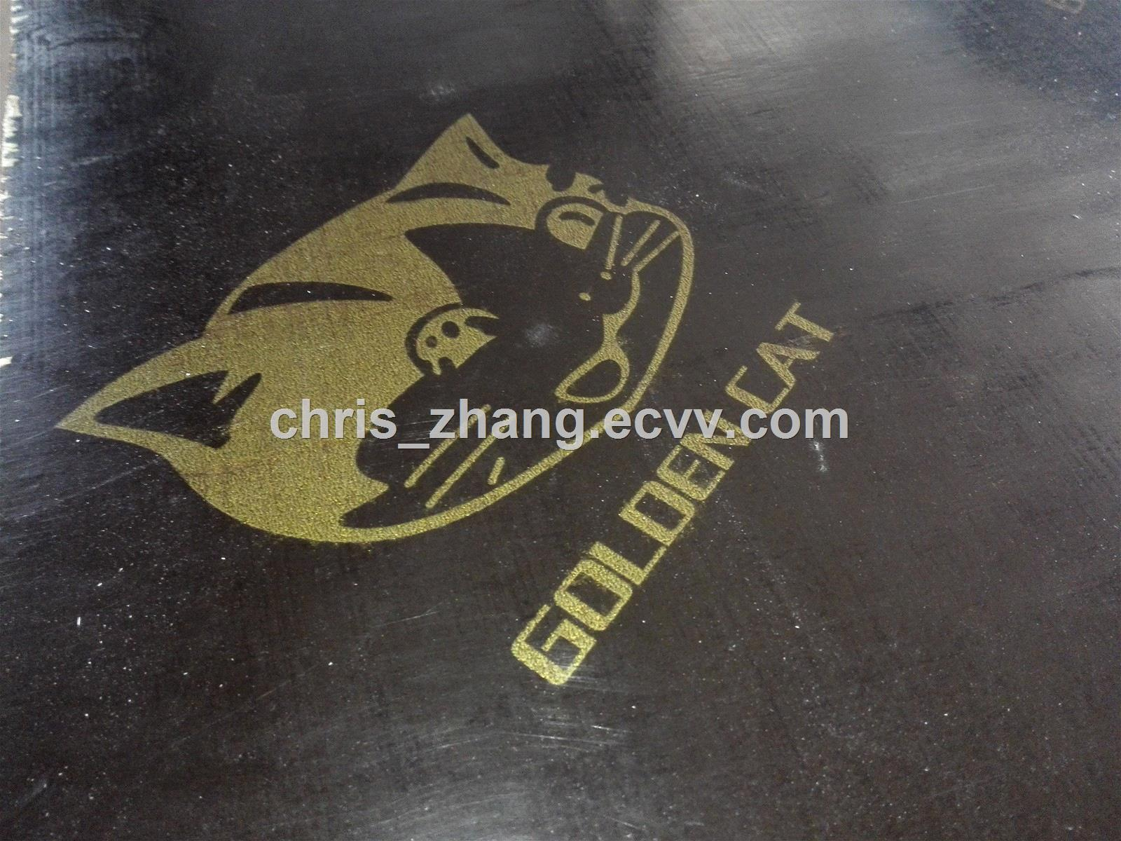 Brown Film Faced Plywoodwith logo18mmx1220x2440mm