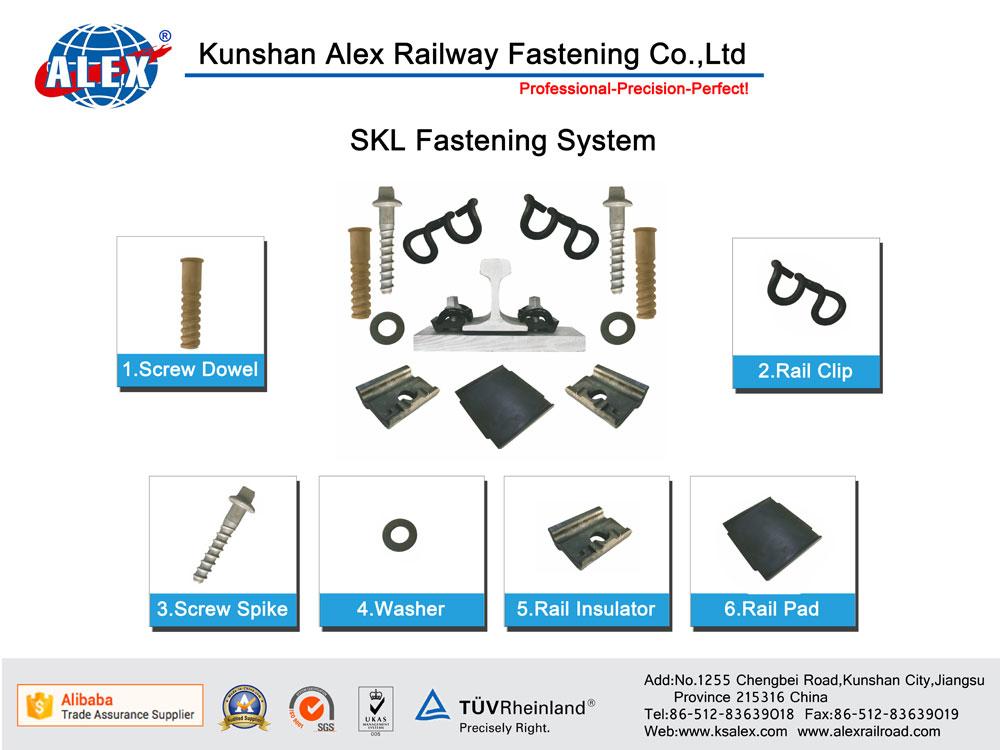 Skl Railway Fastening System
