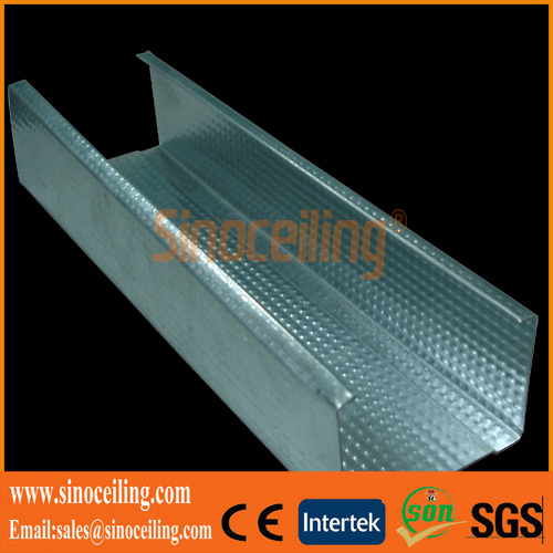 galvanized drywall steel profile