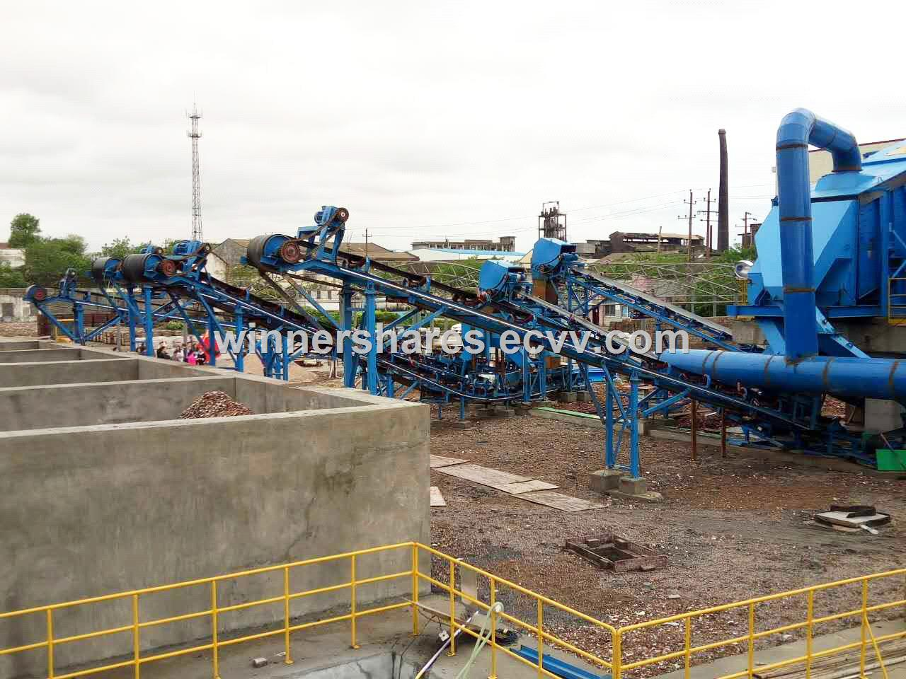 construction waste treatment system