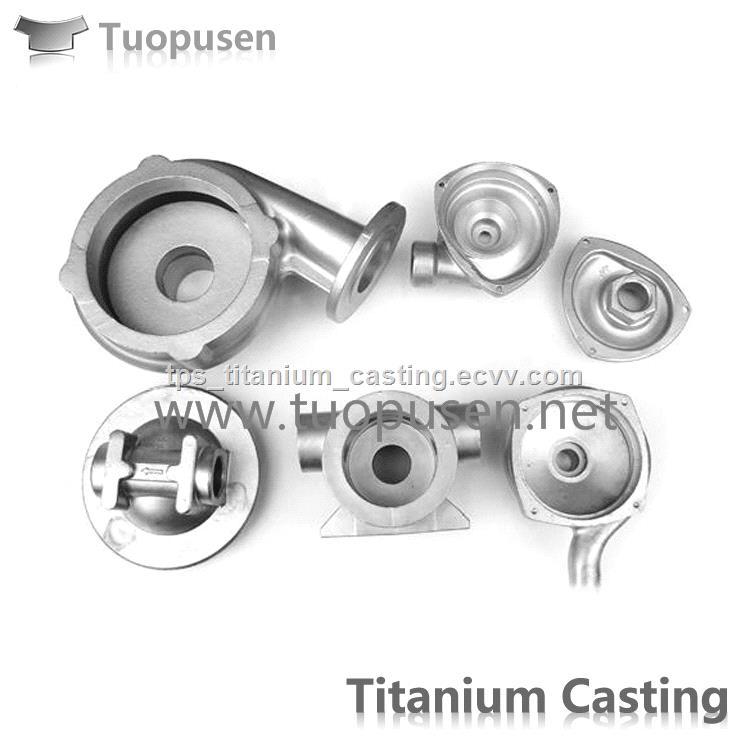 Titanium pump investiment casting parts