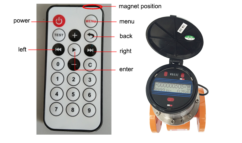 420mA GPRS Output Electromagnetic Flow Meter