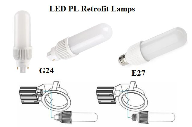 LED CFL bulb light